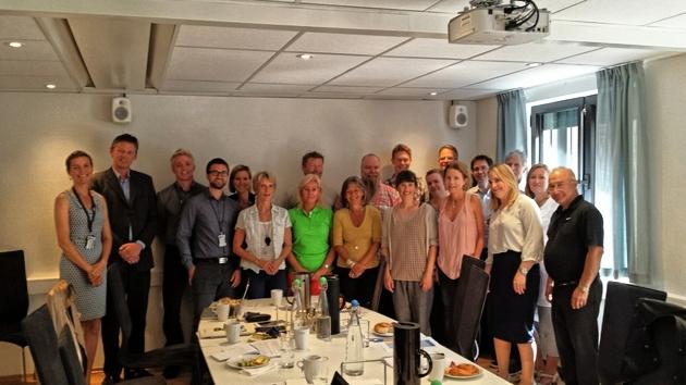 Bilde fra det første møtet i det rådgivende utvalget.