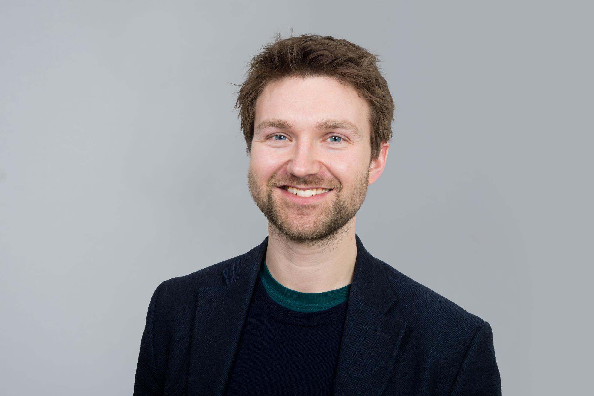 Portrettbilde, Johannes Flisnes Nilsen