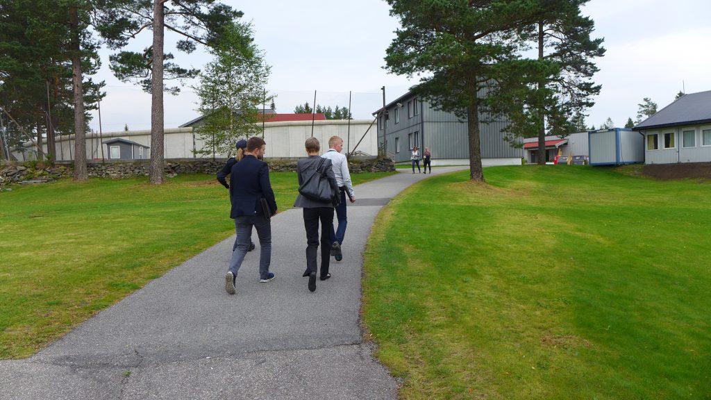 Forebyggingsenheten på besøk i Kongsvinger fengsel